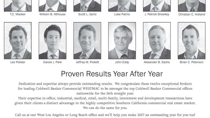 Congratulations to our top producers for 2016!  #tcmacker, #westlacommercial