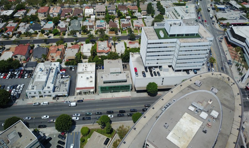 New Listing in Beverly Hills: Creative Offices near Restaurant Row