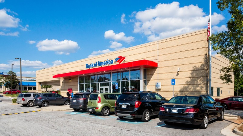 New Listing for Sale – NNN Leased Investment – Bank of America in Metropolitan Atlanta