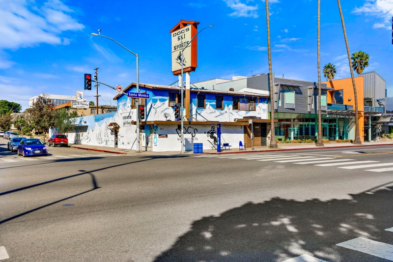 For Sale in Santa Monica – Mixed Use along Santa Monica Boulevard