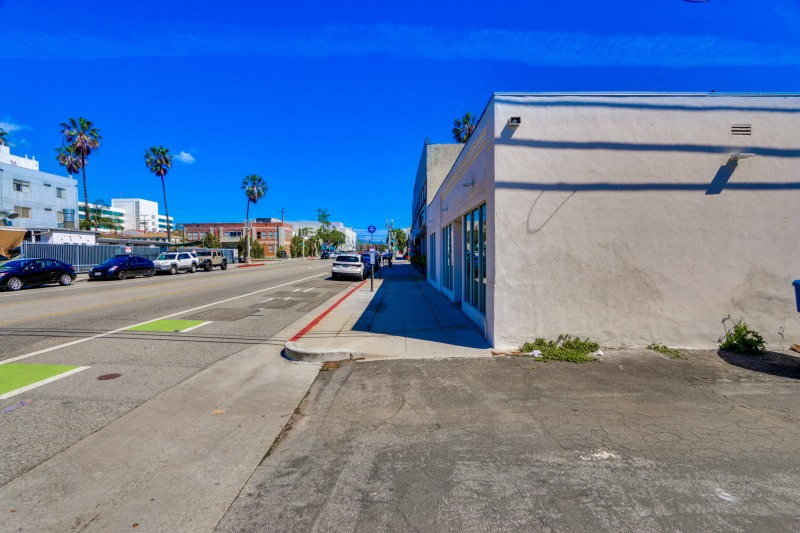 For Sale in Santa Monica – Commercial Building & Residential Bungalow