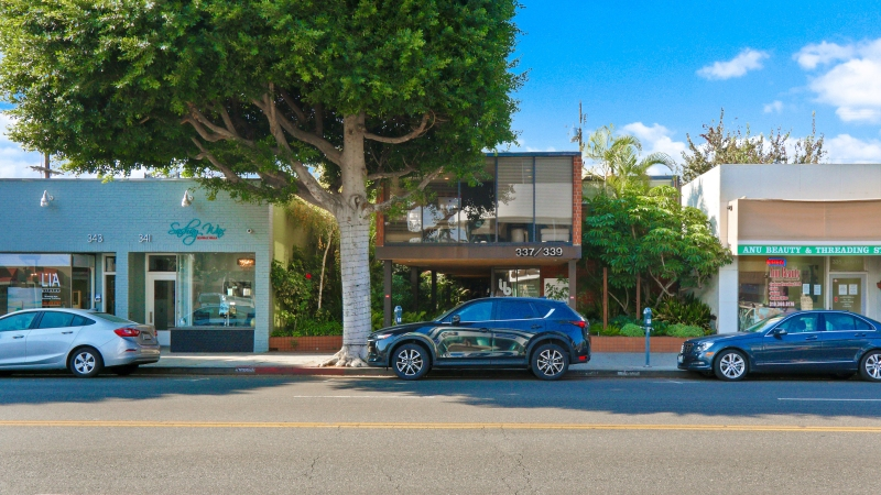 WESTMAC COMMERCIAL BROKERAGE COMPANY AND AJ MORGAN & COMPANY ARRANGES SALE OF CREATIVE OFFICE/RETAIL BUILDING IN BEVERLY HILLS