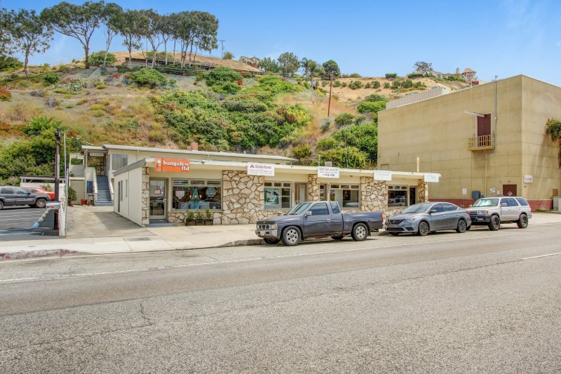 New Listing For Sale: Mixed-Use along Pacific Coast Highway in Malibu